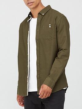very-man-long-sleeved-oxford-shirt-light-khaki