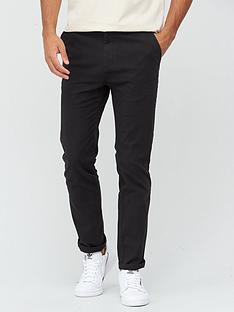 very-man-smart-slim-fit-stretch-chino-black