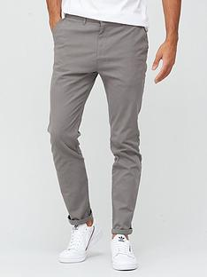 very-man-smart-slim-fit-stretch-chino-dark-grey