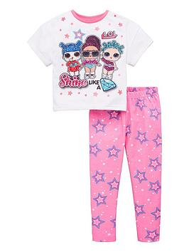 lol-surprise-girlsnbspshine-like-a-diamond-pjs-multi