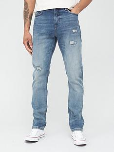 very-man-slim-jeansnbspwith-stretch-vintage-blue-tint-wash
