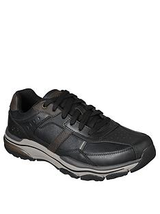 skechers-bike-toe-leather-shoes-black
