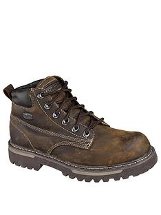 skechers-cool-cat-bully-boot-brown