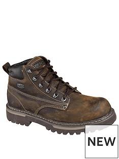 skechers-cool-cat-bully-boot-brown