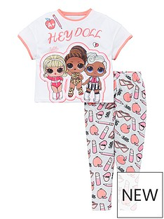 lol-surprise-girlsnbsphey-doll-pj-set-multi
