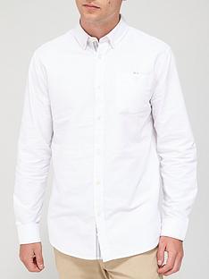 very-man-long-sleeved-oxford-shirt-white