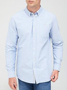 very-man-long-sleeved-oxford-shirt-blue