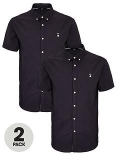very-man-short-sleeved-oxford-shirt-2-pack-navy