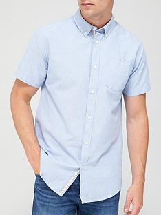 very-man-short-sleeved-oxford-shirt-chambray