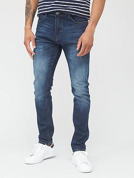 very-man-skinny-jeansnbspwith-stretch--nbspdark-blue-wash