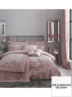 catherine-lansfield-crushed-velvet-duvet-cover-set-in-pink