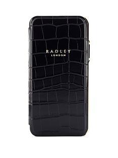 radley-signature-black-croc-folio-case-with-card-slot-iphone-xxs