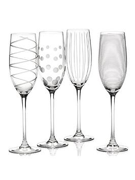 Product photograph showing Cheers Flute Glasses Ndash Set Of 4