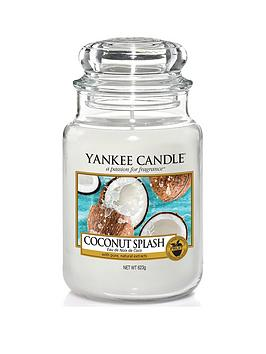 Yankee Candle Yc Classic Large Jar Coconut Splash