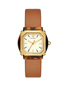 tory-burch-blakenbspgold-and-tortoise-shell-tank-dial-blush-leather-strap-ladies-watch