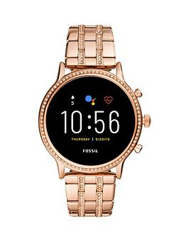 fossil-fossil-full-display-dial-rose-gold-glitz-stainless-steel-bracelet-smart-watch