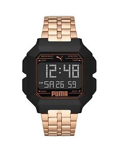 puma-puma-black-and-rose-gold-detail-digital-dial-rose-gold-alloy-bracelet-watch