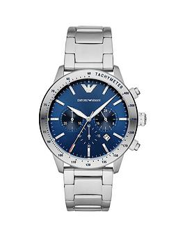 emporio-armani-blue-sunray-chronograph-dial-stainless-steel-bracelet-mens-watch
