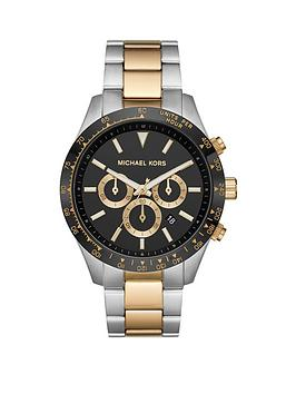 michael-kors-michael-kors-layton-bi-colour-black-dial-mens-bracelet-watch