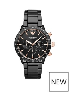 emporio-armani-black-and-rose-gold-detail-chronograph-dial-black-ceramic-strap-mens-watch