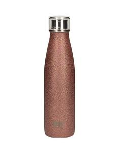 built-hydration-double-walled-stainless-steel-water-bottle-ndash-rose-gold-glitter