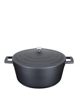 masterclass-cast-aluminium-28-cm-casserole-dish-with-lid
