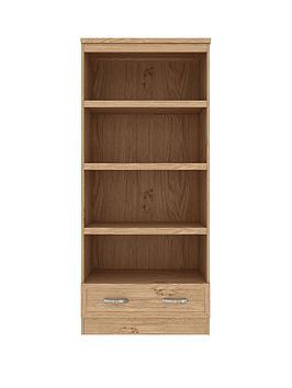 Camberley Bookshelf / Display Unit - Oak Effect