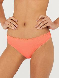 accessorize-sasha-scallop-bikini-briefs-coral