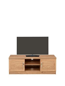 Camberley Tv Unit - Oak Effect - Fits Up To 48 Inch Tv