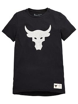 under-armour-childrensnbspproject-rock-brahma-bull-short-sleeve-t-shirt-black