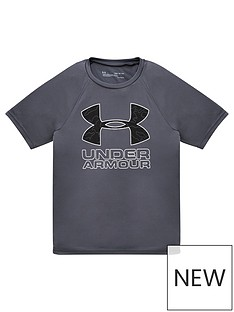 under-armour-childrens-tech-hybrid-printed-fill-short-sleeved-t-shirt-greywhite