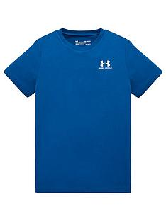 under-armour-childrensnbspsportstyle-left-chest-short-sleeved-t-shirt-blue