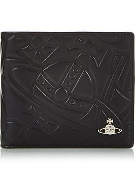 vivienne-westwood-mensnbspbelfast-leather-billfold-wallet--nbspblack