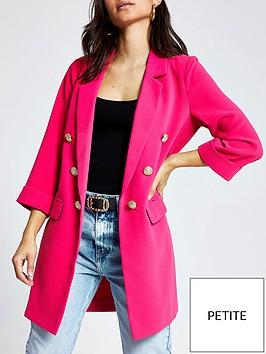 ri-petite-longline-blazer-pink