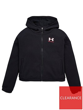 under-armour-under-armour-girls-rival-fleece-full-zip-hoodie