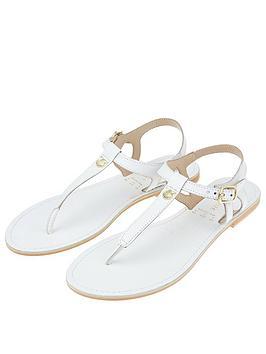accessorize-charm-detail-sandals-white