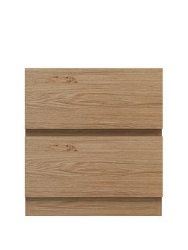 Machinto 2 Drawer Bedside Table