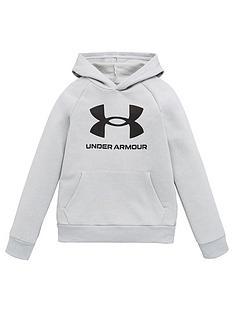 under-armour-rival-fleece-hoodie-greyblack