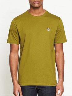 ps-paul-smith-zebra-logo-t-shirt--nbspkhaki