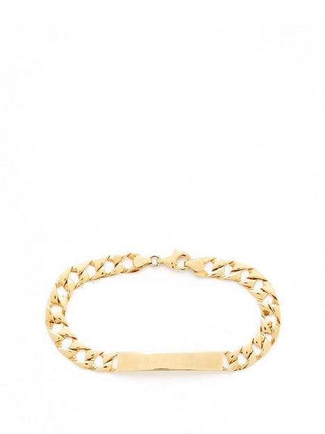 love-gold-9ct-14-oz-gold-id-chain-bracelet