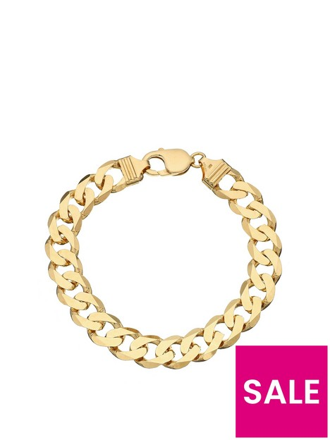 love-gold-9ct-yellow-gold-1-oz-solid-diamond-cut-curb-bracelet