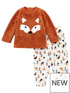 mini-v-by-very-boys-fox-fleece-twosie-brown