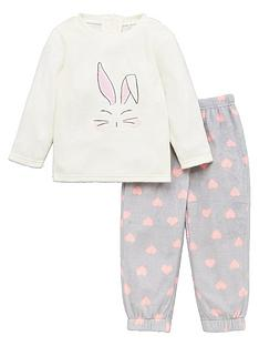 mini-v-by-very-girls-bunny-cosy-twosie-cream