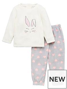 mini-v-by-very-girls-bunny-cosy-twosie-cream