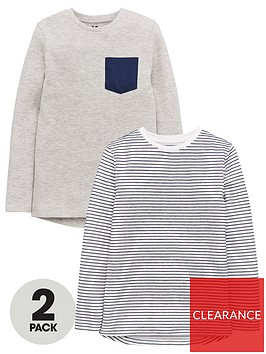 v-by-very-boys-2-pack-textured-long-sleeve-tops-multi