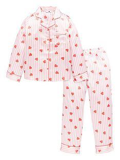 v-by-very-girls-satin-heart-stripe-print-pyjamas-pink