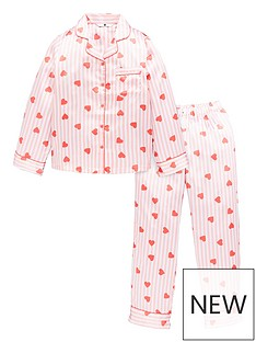 v-by-very-girls-satin-heart-stripe-print-pyjamas-pink