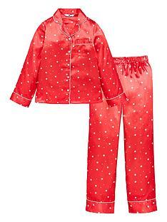 v-by-very-girls-satin-star-print-christmasnbsppyjamas-pink
