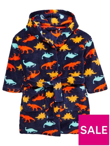 mini-v-by-very-boys-dino-printed-robe-navy