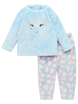 mini-v-by-very-girls-dino-fleece-twosie-pink